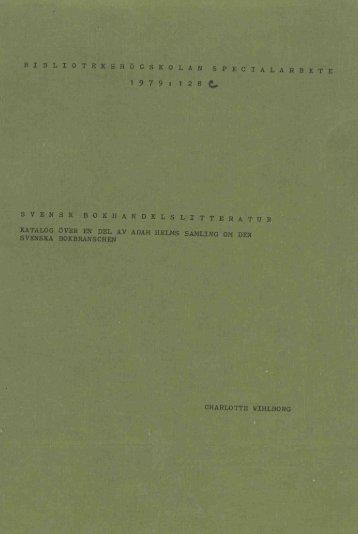1979 nr 128.pdf - BADA - Högskolan i Borås