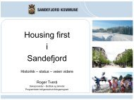 Housing First Sandefjord kommune.pdf - Husbanken