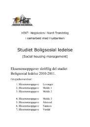 Hint_boligsosial ledelse.pdf - Husbanken