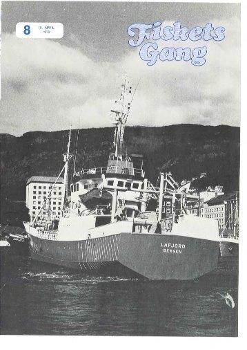 Fiskets Gang. Nr 8. 1979
