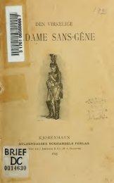 Den virkelige Madame Sans-Gêne: Thérèse Figueurs Liv i Felten ...