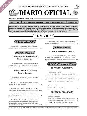 diario ofi cial - Biblioteca UTEC