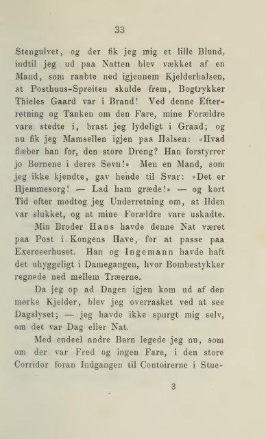 Af mit livs aarbøger, 1795-1826