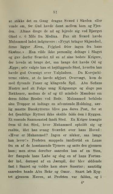 Araberne og deres Kultur i middelalderen