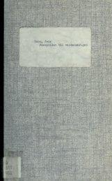 Forspillet til verdenskrigen : de sidste 50 aar i belysning af det første ...