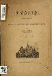 Rosenborg: Mindeblade fra de danske kongers kronologiske samling