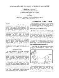 Advancement Towards Development of Sharable Accelerator ... - KEK
