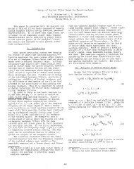 Design of Digital Filter Banks for Speech Analysis R. W. Schafer and ...