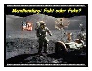 Mondlandung: Fakt oder Fake? Fakt oder Fake? - CROPfm