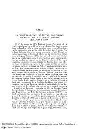 La correspondencia de Rufino José Cuervo con filólogos de ...