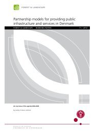 Partnership models for providing public infrastructure and services ...
