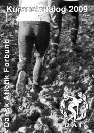Kursuskatalog forår 2009 - Dansk Atletik Forbund