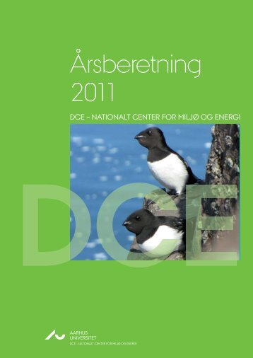 Årsberetning 2011, DCE – Nationalt Center for Miljø og Energi