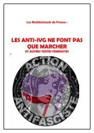 les anti-ivg ne font pas que marcher et autres textes feministes