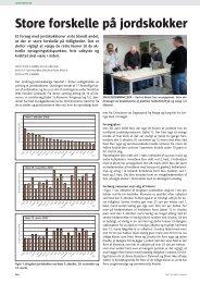 Bjørn, Gitte K.: Store forskelle på jordskokker. Frugt og Grønt, juni 2009