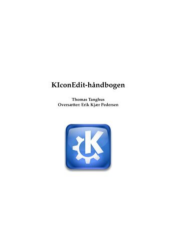 KIconEdit-håndbogen - KDE Documentation