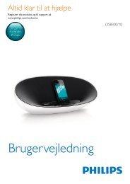 Brugervejledning - Philips