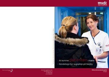 At komme patienteni møde « – Kendetegn for sygepleje på ... - e-Dok