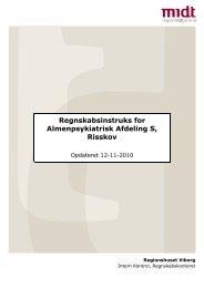 Regnskabsinstruks (revideret 12-11-2010).pdf - e-Dok - Region ...