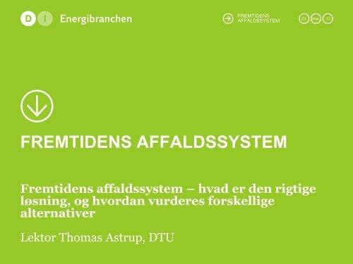 Se hele præsentationen - DI Energi