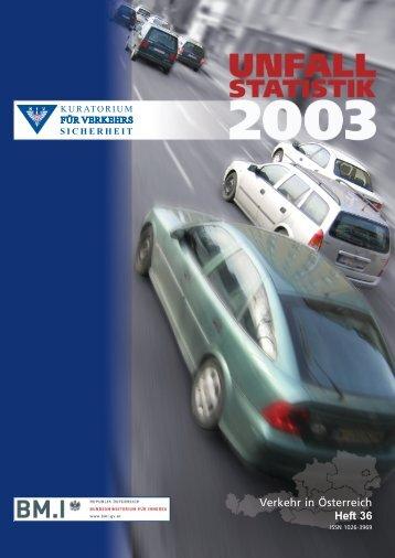 Verkehr in Österreich Heft 36