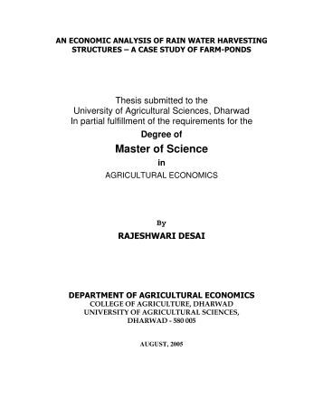 electronic thesis and dissertations