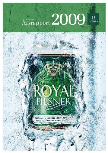 Årsrapport 2009 - Royal Unibrew