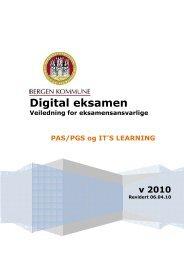 Digital eksamen - itslearning