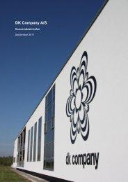 DK Company A/S - Koncernbeskrivelse - September 2011