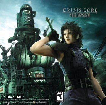 Crisis Core: Final Fantasy 7 - Sony PSP - Manual - gamesdbase.com