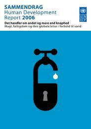 Sammendrag - Human Development Reports - United Nations ...