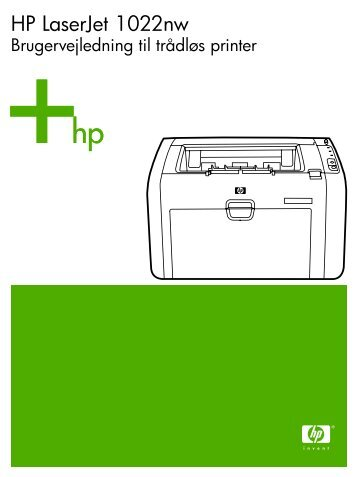 HP LaserJet 1022nw Wireless Printer User Guide - DAWW