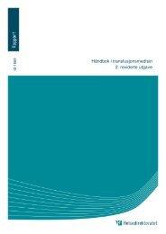 Håndbok i transfusjonsmedisin 2. reviderte utgave - Helsedirektoratet