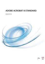 Brug af Adobe Acrobat 8 Standard (PDF)