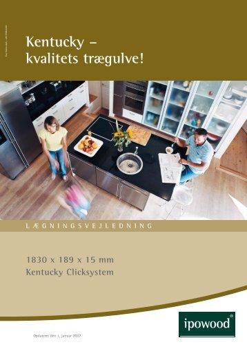 Kentucky – kvalitets trægulve!