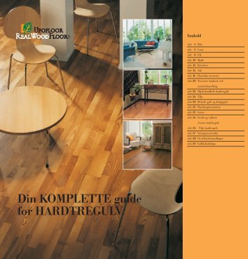 Din KOMPLETTE guide for HARDTREGULV