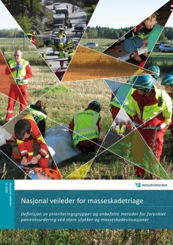 Nasjonal veileder for masseskadetriage - Helsedirektoratet