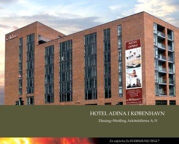 HOTEL ADINA I KØBENHAVN
