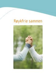 Røykfrie sammen - Helsedirektoratet