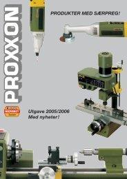 PRODUKTER MED SÆRPREG! Utgave 2005/2006 Med nyheter!