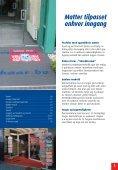 Børstematter • Avtørkningsmatter • Logomatter Vegg-til-vegg tepper - Page 3