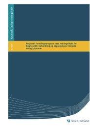Nasjonalt handlingsprogram med retningslinjer ... - Helsedirektoratet