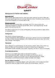 Sjøvettsregler 07.01.02