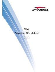 SLA Broadnet IP-telefoni (v.4)