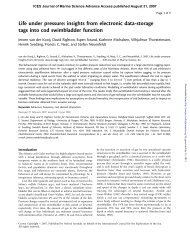 Life under pressure - ICES Journal of Marine Science - Oxford ...