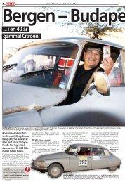 ... i en 40 år gammel Citroën!