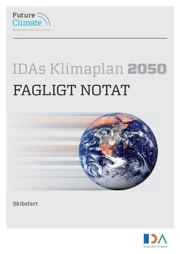 Fagligt notat om skibsfart - IDA