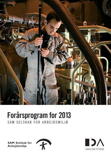 Forårsprogram for 2013 - IDA
