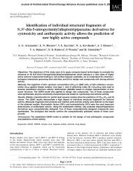 Identification of individual structural fragments of N,N - Journal of ...
