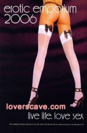 Loverscave.com Catalogue 2006
